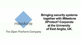 University Of East Anglia (UK) Grows With Milestone Systems