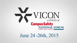 Vicon at Campus Safety 2015