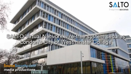 SALTO Virtual Network Wire-Free System Transforms Campus of College in London into Keyless Access Control System