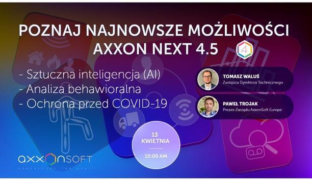 Introducing Axxon Next 4.5 - Poland