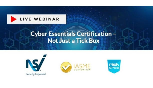 NSI To Host A Webinar On Cyber Essentials Certification