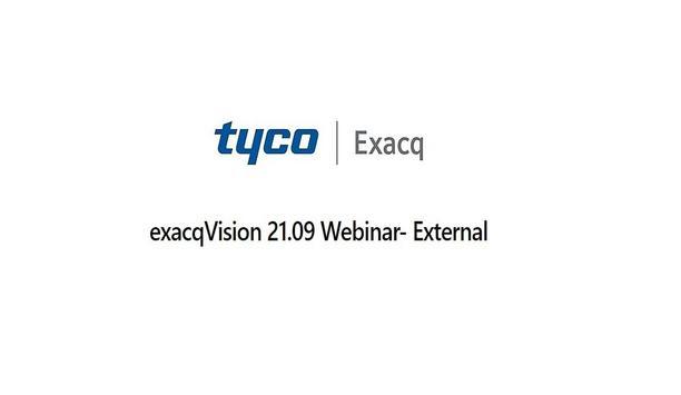 exacqVision 21.09 Webinar
